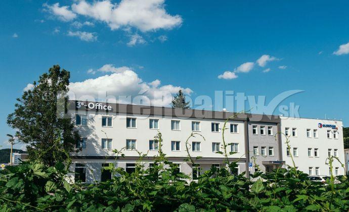 PRENÁJOM:  Už len 7 kancelárií v 3B Office, 17 m2/kancelária, Zvolenská cesta, Banská Bystrica