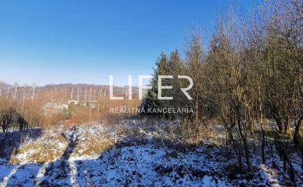 Na predaj krásny stavebný pozemok v obci Kysucký Lieskovec