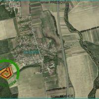 Pre rodinné domy, Budimír, 1200 m²