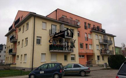 Prenájom 1 izbový byt s balkónom Šamorín