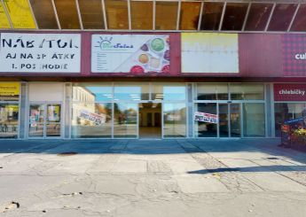 Na prenájom komerčné a prevádzkové priestory s rozlohou 141,45 m2, Trenčín Centrum, ul. Hviezdoslavova