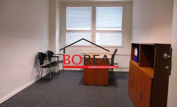 Kancelárie (15 m2) v Ružinove na prenájom, Sabinovská ul. - BA II.