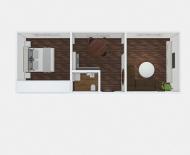 2-izbový byt Nižná