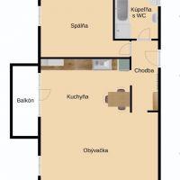 2 izbový byt, Nové Zámky, 68 m², Novostavba