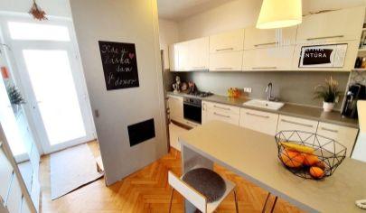 PREDANÉ: EXKLUZÍVNE NA PREDAJ: slnečný 2,5i byt v tichej ulici, 3./4p., tehla, 70m², výborná poloha pri OC Centrál, Ružinov –  Dohnányho ul.