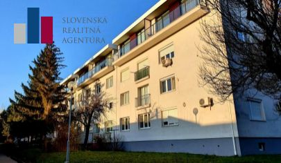 REZERVOVANÉ: EXKLUZÍVNE NA PREDAJ: príjemný 2i byt, tehla, 53m², 1./4 p., Rača - Krasňany, ul. Hubeného