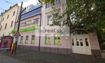 Obchodný priestor 212 m2 Hviezdoslavovo námestie