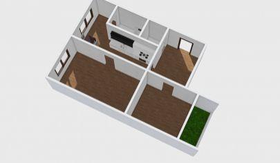 Predáme 2 izbový byt v Handlovej