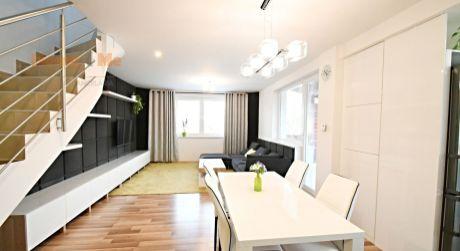 Nájom 3 izbového kompletne zariadeného mezonetového bytu, so záhradkou, Dunajská Lužná