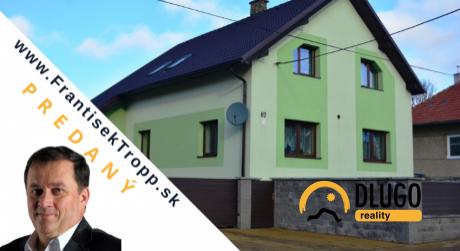 Rodinný dom na predaj Hozelec, ul. Hlavná, pozemok 2107m2, okres Poprad