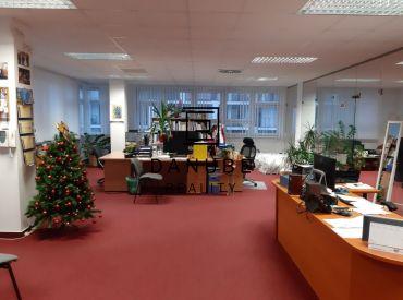 Prenájom kancelárskych priestorov v Bratislave na Račianskej ulici 70 až 200 m2.