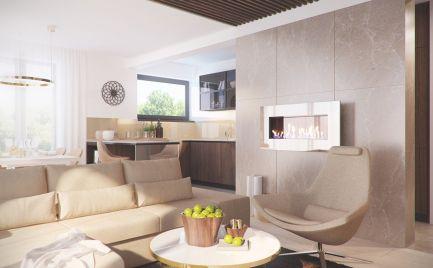 TOP PONUKA   2 izbový byt o výmere 65 m2  s parkovacím státím,  novostavba centrum - Banská Bystrica
