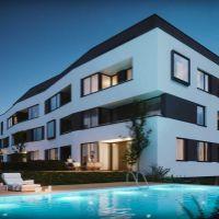 2 izbový byt, Rovinka, 61.57 m², Vo výstavbe