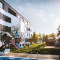 2 izbový byt, Rovinka, 63.38 m², Vo výstavbe