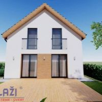 Rodinný dom, Dolný Kalník, 124 m², Novostavba