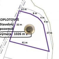 Pre rodinné domy, Koplotovce, 1026 m²