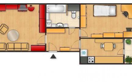 2 izbový byt na Rozkvete