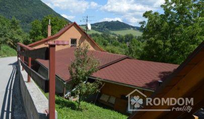Predaj, zabehnutý hostinec s bývaním a letnou terasou Žilina, Vranie