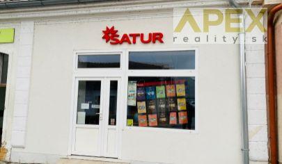 Exkluzívne APEX reality prenájom priestoru (bývalý SATUR) 53 m2, pešia zóna HC