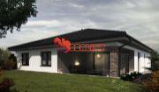 kunareality - Novostavba rodinný dom, holodom s garážou, 4 izbový, dom 189 m2, , pozemok 674 m2 obec Bučany