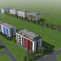 3 izbový byt, Galanta, 61.63 m², Novostavba