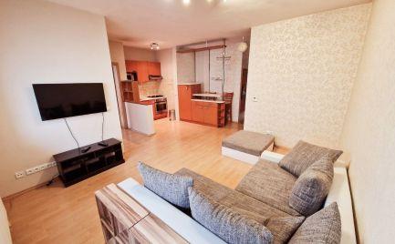 Exkluzívne  na prenájom 2 izbový byt v NOVOSTAVBE-aj s Garážou