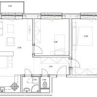 3 izbový byt, Skalica, 69 m², Novostavba