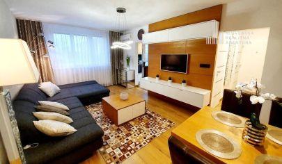 REZERVOVANÉ: na predaj nádherný 3i byt, 3./8p., výťah, balkón, loggia, Ružinov, Nezábudková ul.