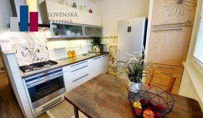 PREDANÉ: na predaj slnečný 3i byt s výhľadom na Kamzík, 5./8p., loggia, Dúbravka, Cabanova ul.