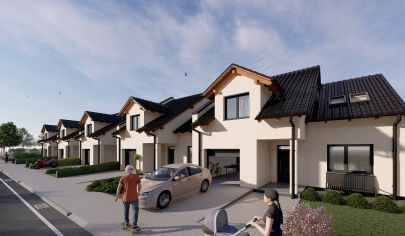 Predaj nových rodinných domov v Senici, časť Mlyny