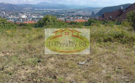 Top ponuka - Slnečný stavebný pozemok 1 260  m2, pre náročného klienta, Banská Bystrica – cena 183 €/ m2
