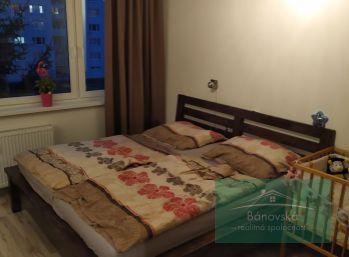 2 izbový byt Bánovce nad Bebravou/ Dubnička/ 50m2 s loggiou