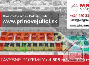 Stavebný pozemok / stavebné pozemky Dolná Streda - Pri Novej