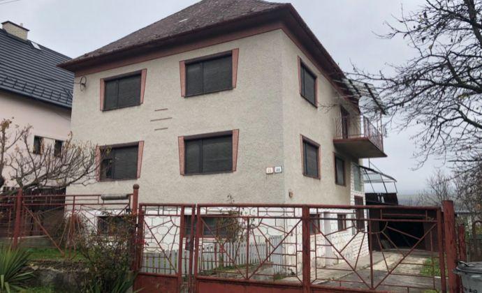 Na predaj 6 izbovy rodinný domv  Nitrianskom Rudne
