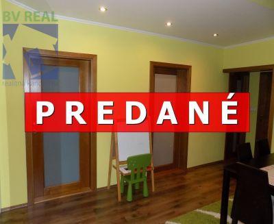 REZERVOVANÉ EXKLUZÍVNE 4 izbový byt 86 m2 Prievidza Urbánkova Zapotôčky BV1001