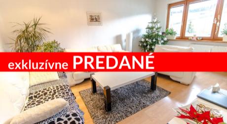 Exkluzívne 3-izbový byt (69m2) po rekonštrukcii na Brezovci