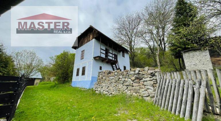 Na predaj domček v Šípkove s  pozemkom 1032m2