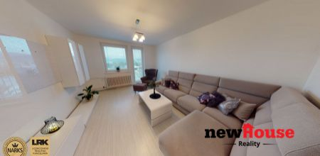 Kompletne zariadený, pekný 3 izbový byt  v Trenčíne, Sihoť II, lódžia+balkón