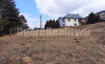 PREDAJ: Pozemok pre rodinný dom a vedľajšie stavby, 1235 m2, Brezno - Vrchdolinka