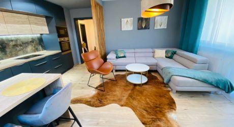 Na prenájom luxusný 2 izbový byt s balkónom v novostavbe - TN
