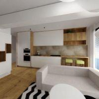 3 izbový byt, Košice-Staré Mesto, 58 m², Novostavba