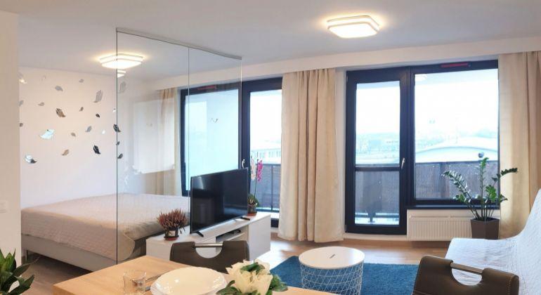 2-izbový byt v novostavbe FLAT 75, ul. Ondreja Štefánka, VIDEOOBHLIADKA