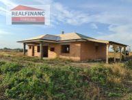 REALFINANC - 100% aktuálny 4 izbový Rodinný Dom, BUNGALOV + garáž + prístrešok pre auto, Novostavba, zastavaná plocha 160 m2, pozemok 539 m2, Tureň !!!