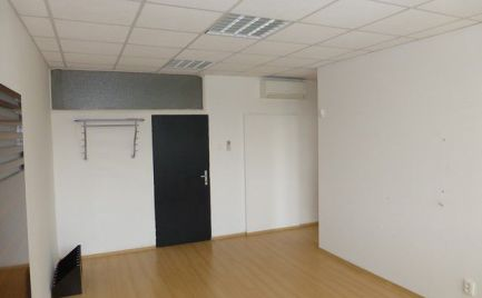 Na prenájom dvojkancelárie pri Poluse s výmerami už od 33 m2.