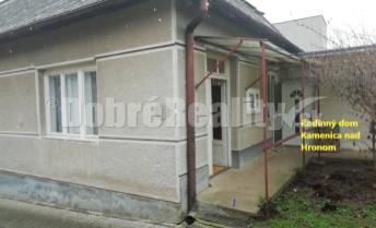 Na predaj rodinný dom v Kamenici nad Hronom