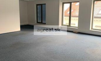 Klimatizované kancelárske priestory 196 m2 s možnosťou bývania, novostavba Panenská ul. + parking