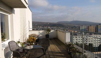 objekt RUSTICA v Dúbravke  - veľký 4 izbový byt s terasou a panoramatickým výhľadom