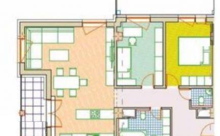 ZĽAVA - Predaj 3+KK bytu, 95 m2 s lodžiou,balkónom - NOVOSTAVBA - B. Bystrica – centrum, cena 223 000€