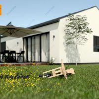 Rodinný dom, Ivančiná, 108 m², Projekt