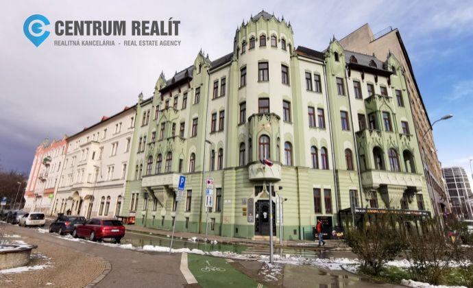 Reprezentatívne kancelárske priestory v centre Bratislavy, 109 m2, Šafarikovo nám., BAI- Staré Mesto